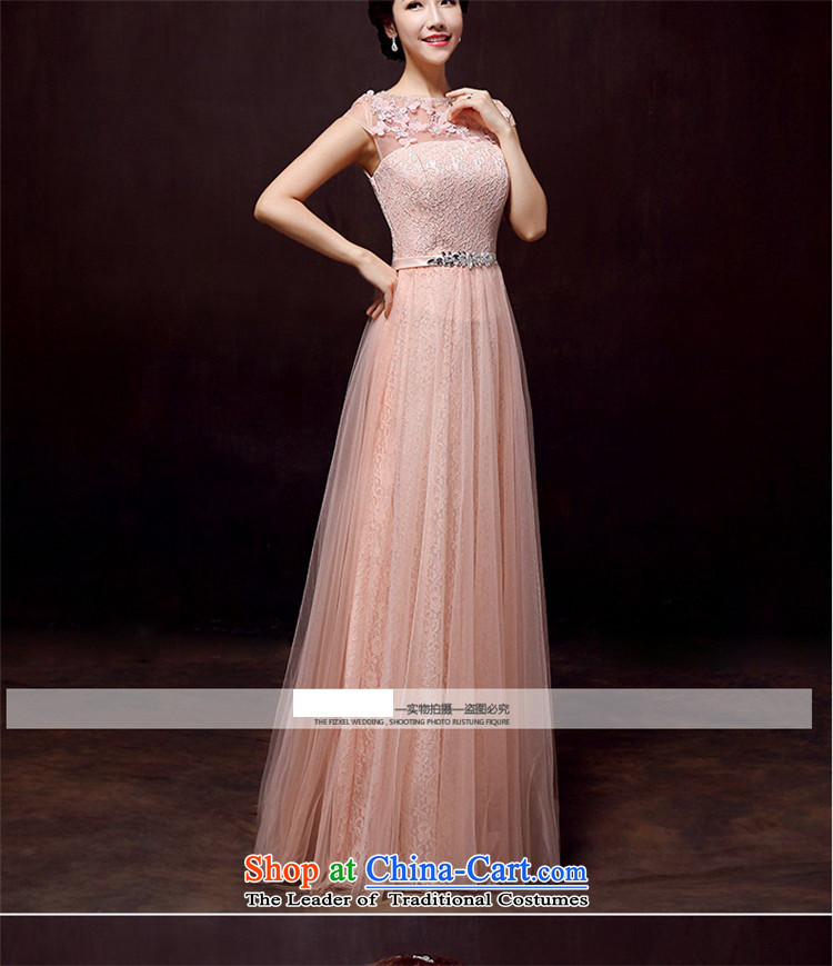 02b30b18d59 The new 2016 HUNNZ spring and summer Korean fashion bride wedding dress  banquet evening dresses bridesmaid