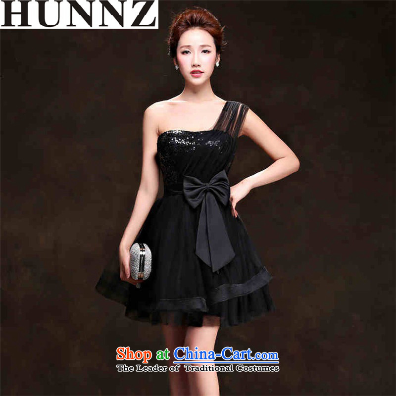 Wipe the chest short HUNNZ 2015, Korean Style New spring and summer bride wedding dress banquet evening dresses and short of chest?XXL
