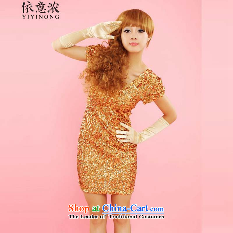In accordance with the intention is thicker� DS nightclubs and on tight package chip performance dresses dress 09# orange are code