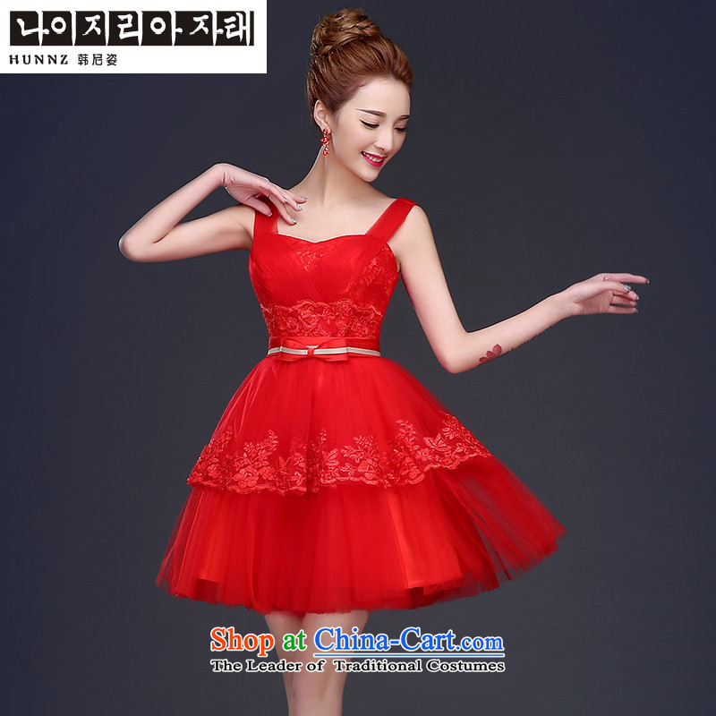 Hannizi 2015 wedding dress bows Service Bridal Fashion Tie Straps, evening dresses bridesmaid Serviceof Korea s Red Gigi Lai (hannizi) , , , shopping on the Internet