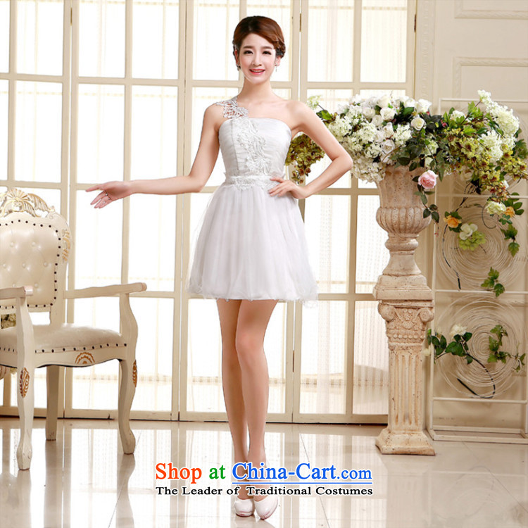 No. of pzpzquality (Shoulder) evening dresses bridesmaid small Dress Short, sister small dress bride bows to small Sau San dress code are champagne color pictures, prices, brand platters! The elections are supplied in the national character of distribution, so action, buy now enjoy more preferential! As soon as possible.