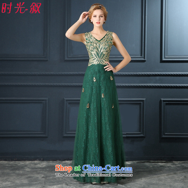 Time Syrian green stones Phoenix marriages Annual Dinner of the bows services show wedding dresses 2015 New Army Green聽S
