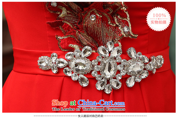 2015 Fashion straps HUNNZ shoulder bride wedding dress banquet evening dresses bows services red red聽S picture, prices, brand platters! The elections are supplied in the national character of distribution, so action, buy now enjoy more preferential! As soon as possible.