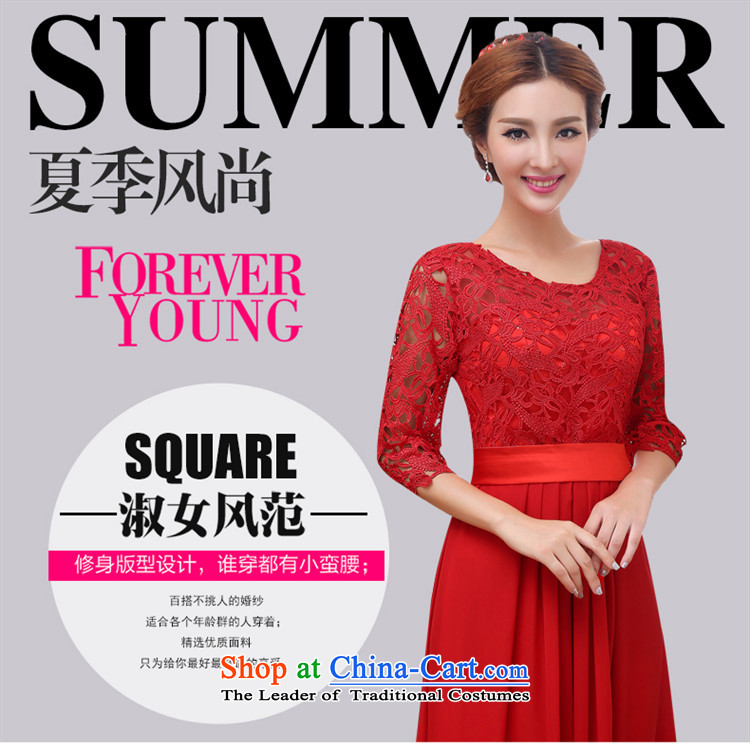 2015 Korean Beauty HANNIZI bride wedding banquet set evening dresses bows to red female red聽S picture, prices, brand platters! The elections are supplied in the national character of distribution, so action, buy now enjoy more preferential! As soon as possible.