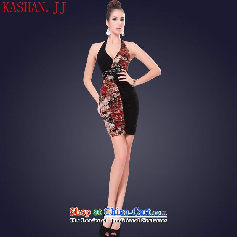 Mano-hwan, a new summer, sexy dress dresses nightclubs evening dress short of female technicians and is of thin build services package will suit�S