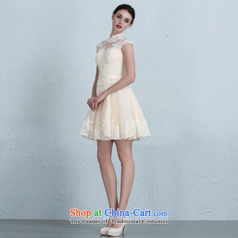 There is a stylish wedding dresses 2015 new short) bridesmaid ...