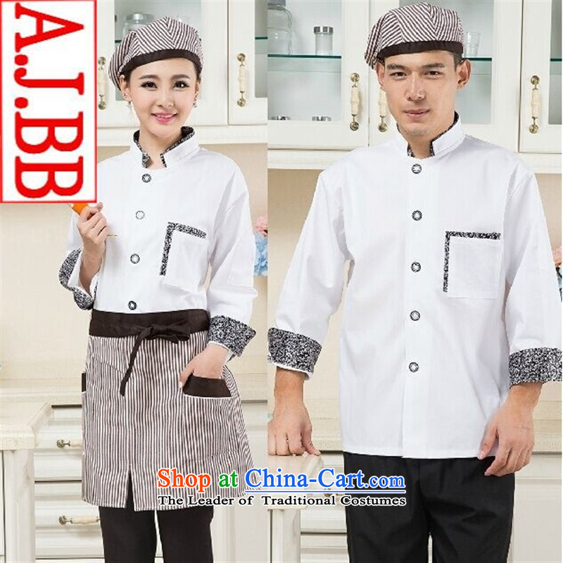 The Secretary for Health related shops * autumn and winter men and women long-sleeved Western Restaurant Bakery Inn chef services white shirts) Ms. (M