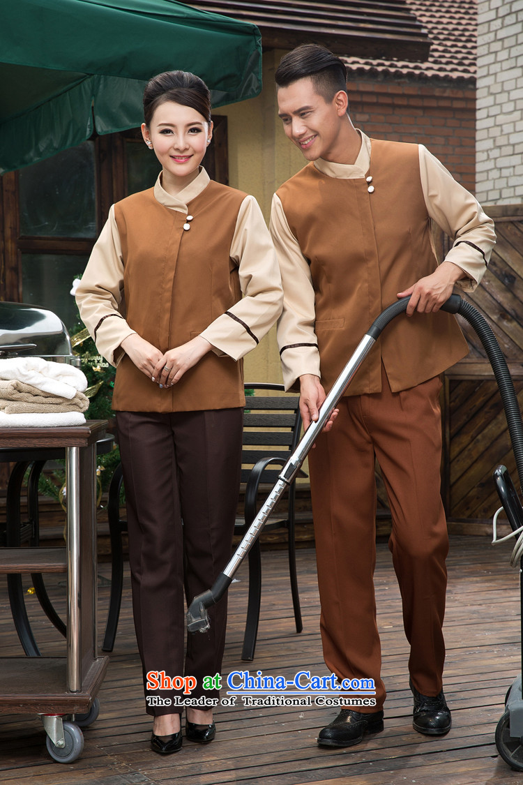 The Secretary for Health related shops * Hotel Rooms Property Coverall Cleaning services for men and women for autumn and winter by large long-sleeved T-shirt (brown) Men and women XS picture, prices, brand platters! The elections are supplied in the national character of distribution, so action, buy now enjoy more preferential! As soon as possible.