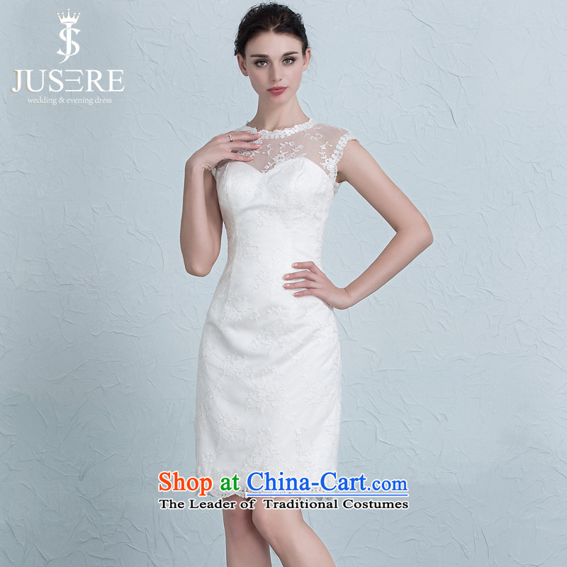 There is a Korean-style wedding dresses bridesmaid Sau San service packages and dress) Bride bows services tailored White