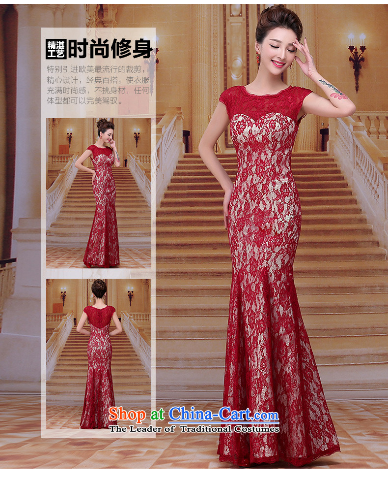 Tim hates makeup and new wine red dress up new winter madame bows services wedding dresses