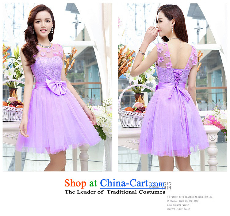 Upscale dress lace round-neck collar dresses sleeveless dress bon bon skirt 2015 Summer New flower bud skirt wedding dress bridesmaid skirt princess apricot L photo, prices, brand platters! The elections are supplied in the national character of distribution, so action, buy now enjoy more preferential! As soon as possible.
