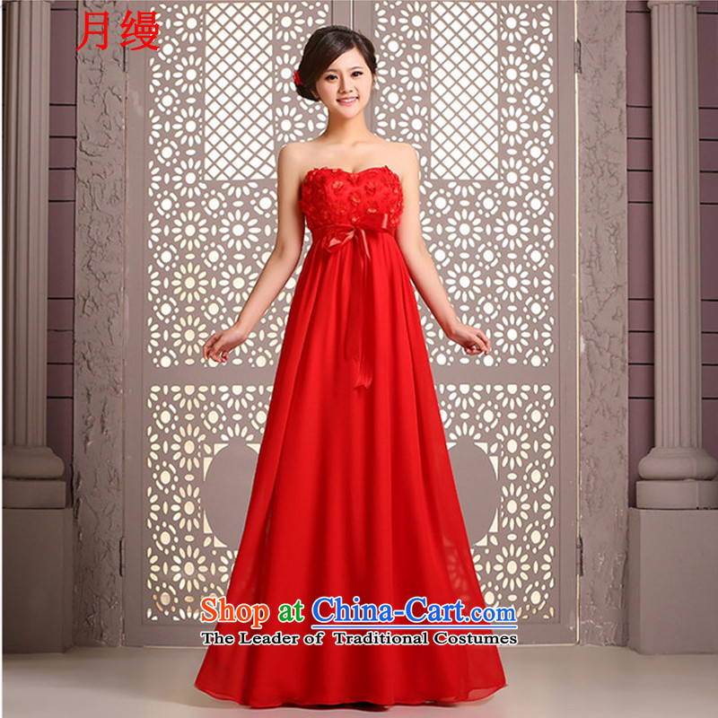 The following new paragraph on 2015 Red marriages evening dresses Top Loin of pregnant women and chest straps long drink large service expertise made mm Red size not refunded