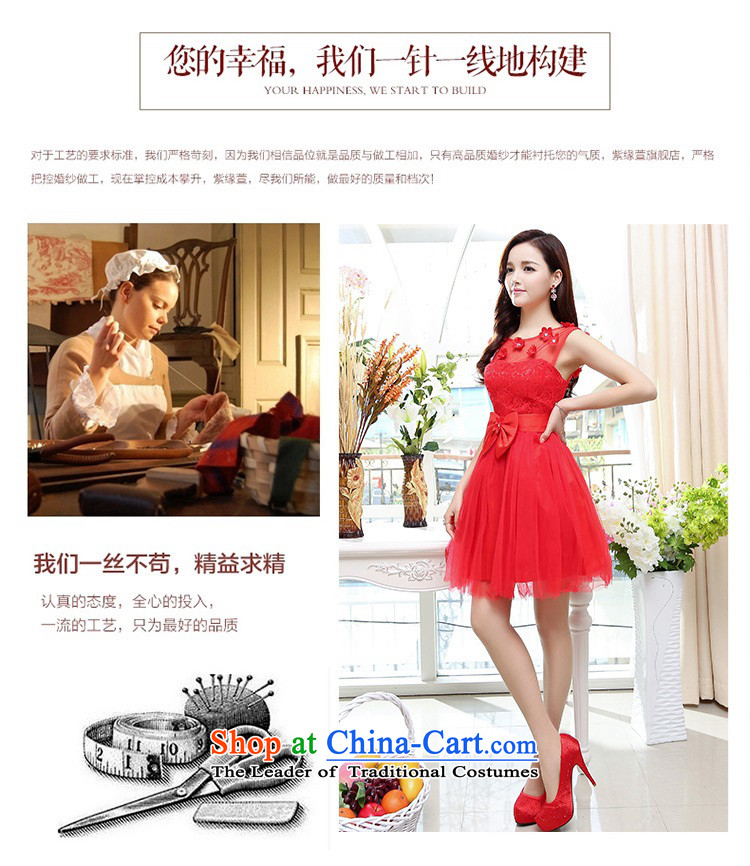 Upscale dress lace round-neck collar dresses sleeveless dress bon bon skirt 2015 Summer New flower bud skirt wedding dress bridesmaid skirt princess redS picture, prices, brand platters! The elections are supplied in the national character of distribution, so action, buy now enjoy more preferential! As soon as possible.