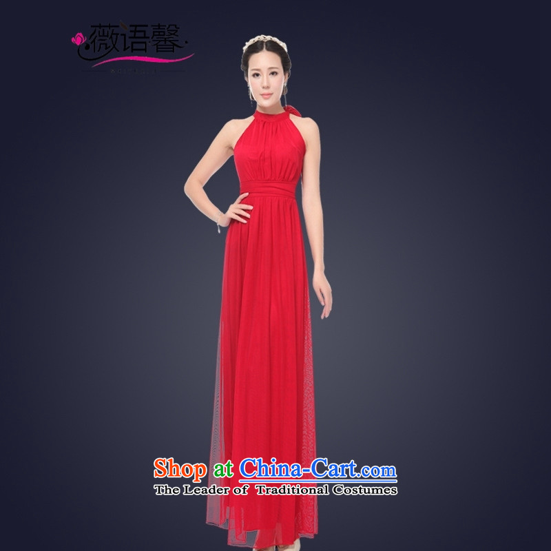 Optimize fruit shop 2015 Summer bell sexy women's dresses long banquet evening dresses bows will white 5聽S496122