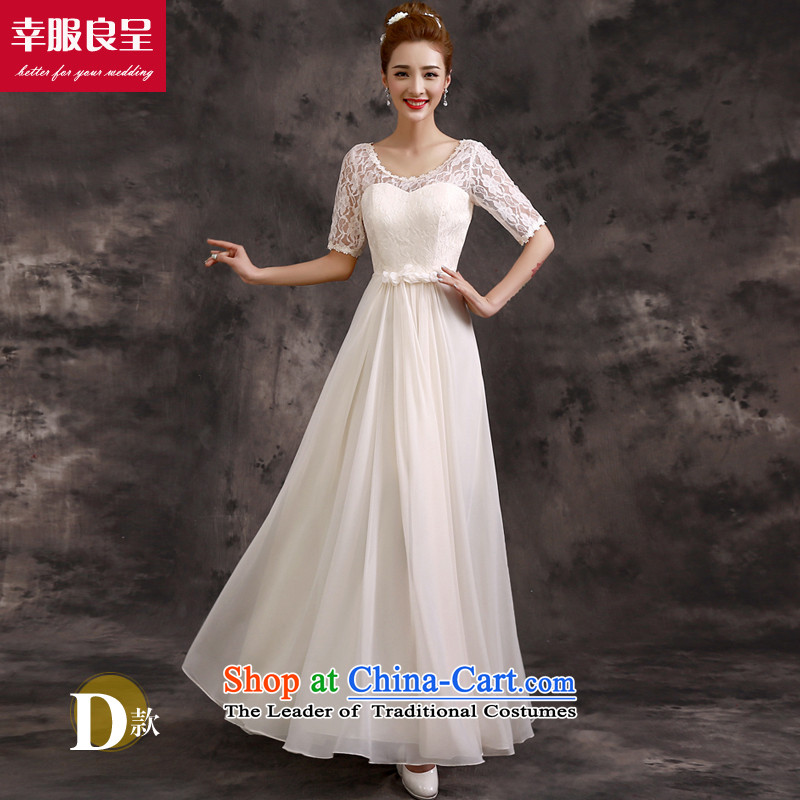 The privilege of serving-leung bridesmaid services 2015 Autumn bridal dresses bridesmaid mission sister skirt long evening dresses champagne color bridesmaids�) - A SPECIAL COMMISSIONER'S OFFICE IN SLEEVES�M