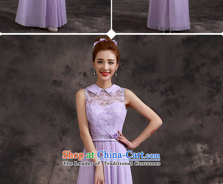 The privilege of serving-leung bridesmaid dress 2015 new bridesmaid service long bridesmaid mission sister skirt evening dress bridesmaids B02) - Beveled Shoulder S picture, prices, brand platters! The elections are supplied in the national character of distribution, so action, buy now enjoy more preferential! As soon as possible.