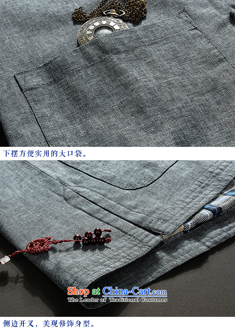 Pick the 2015 autumn and winter new elderly men Tang Jacket coat pure color long-sleeved Chinese ROM installed China wind grandpa clip top Light Gray聽Photo 190, prices, brand platters! The elections are supplied in the national character of distribution, so action, buy now enjoy more preferential! As soon as possible.