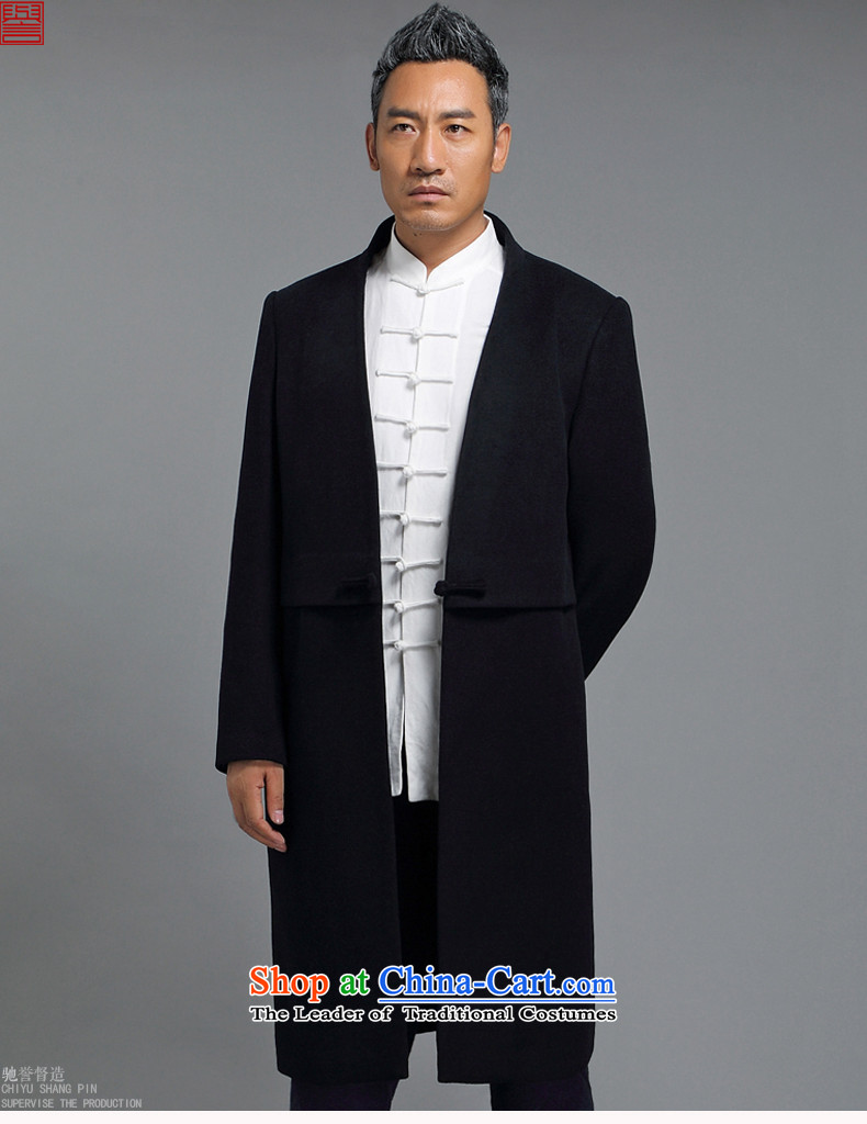Renowned winter wool a wool coat jacket and Tang dynasty Chinese tunic male China wind Han-wool velvet cloak men in this Long Hoodie Tibetan blue聽XL Photo, prices, brand platters! The elections are supplied in the national character of distribution, so action, buy now enjoy more preferential! As soon as possible.