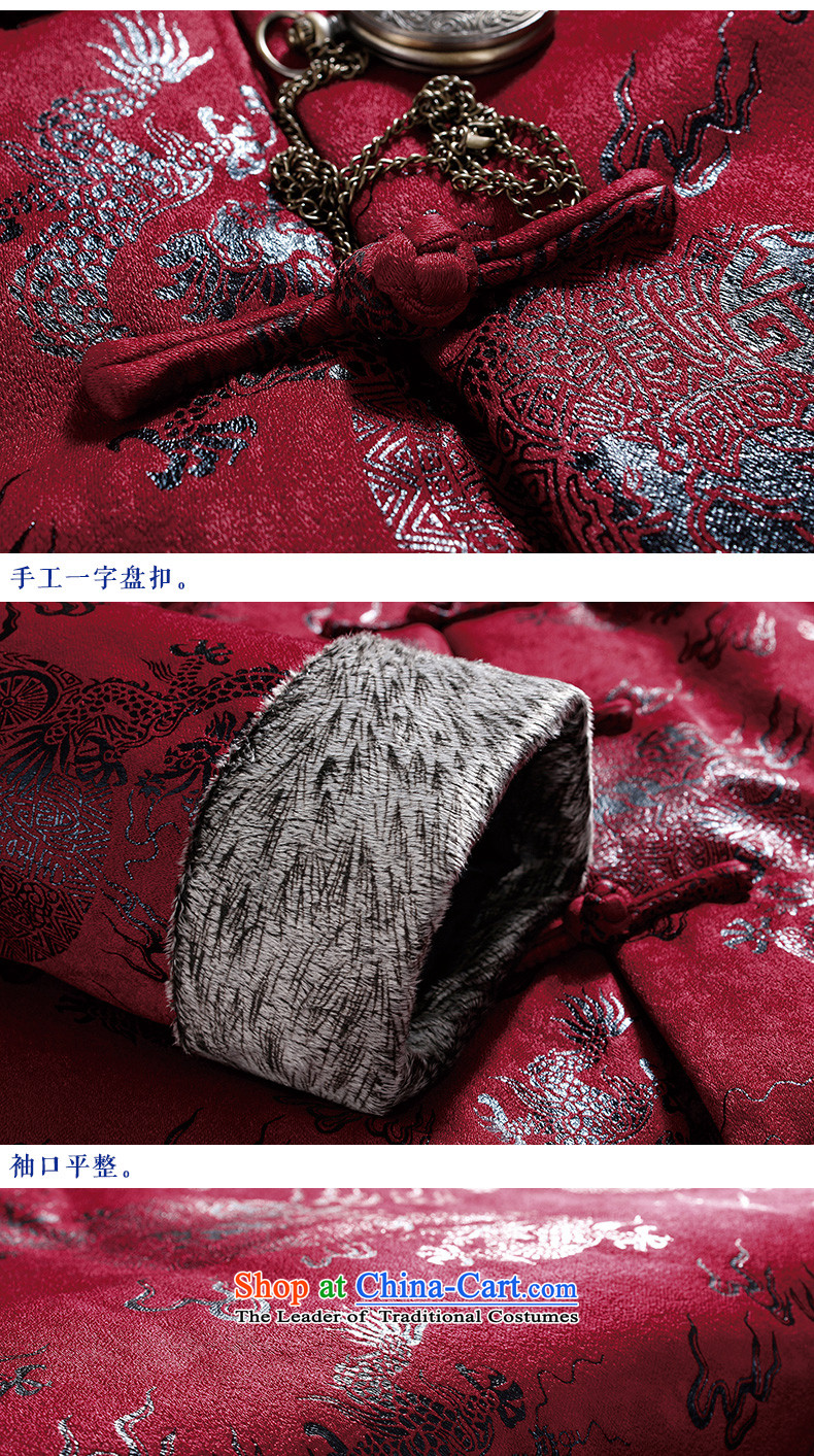 Pick the 2015 autumn and winter new father replacing men Tang jacket in older long-sleeved jacket China wind spell retro-color father boxed Tang Jacket coat coffee聽XL Photo, prices, brand platters! The elections are supplied in the national character of distribution, so action, buy now enjoy more preferential! As soon as possible.