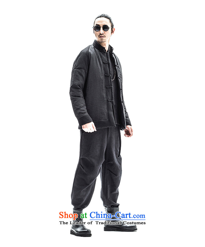 To tree original autumn and winter men thick Tang jackets Youth Chinese national Tang Dynasty Recreation robe male Hyun color聽pictures, prices, 185/XXL brand platters! The elections are supplied in the national character of distribution, so action, buy now enjoy more preferential! As soon as possible.