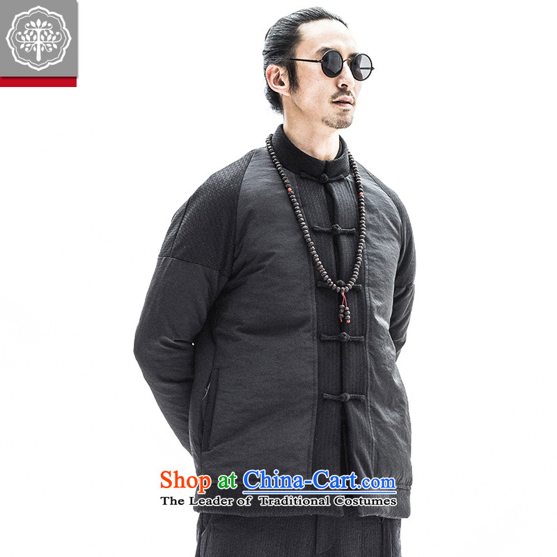 To tree original autumn and winter men thick Tang jackets Youth Chinese national Tang Dynasty Recreation and Hyun color聽185/XXL, robe intended tree (EYENSREE) , , , shopping on the Internet