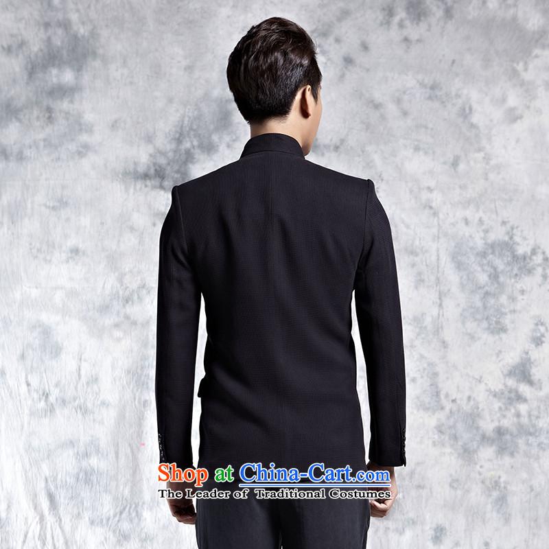 Elizabeth cloud of incense China wind-cloud based on Chinese tunic male silk yarn Sau San jacket collar business gentleman Tang Blouses Black聽XL, cloud of incense Lisa (xiangyunsha) , , , shopping on the Internet