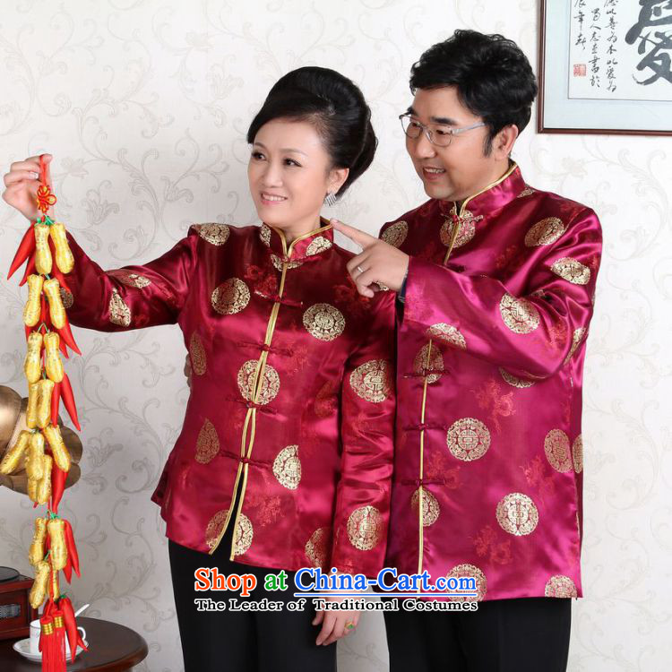 She was particularly headliner older couples with Tang dynasty China wind collar dress too Shou Yi wedding services will blue women聽XXXL picture, prices, brand platters! The elections are supplied in the national character of distribution, so action, buy now enjoy more preferential! As soon as possible.