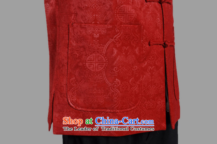 She was particularly Tang dynasty international men's long-sleeved national costumes men Tang jackets collar embroidery Chinese dragon red聽XL Photo, prices, brand platters! The elections are supplied in the national character of distribution, so action, buy now enjoy more preferential! As soon as possible.