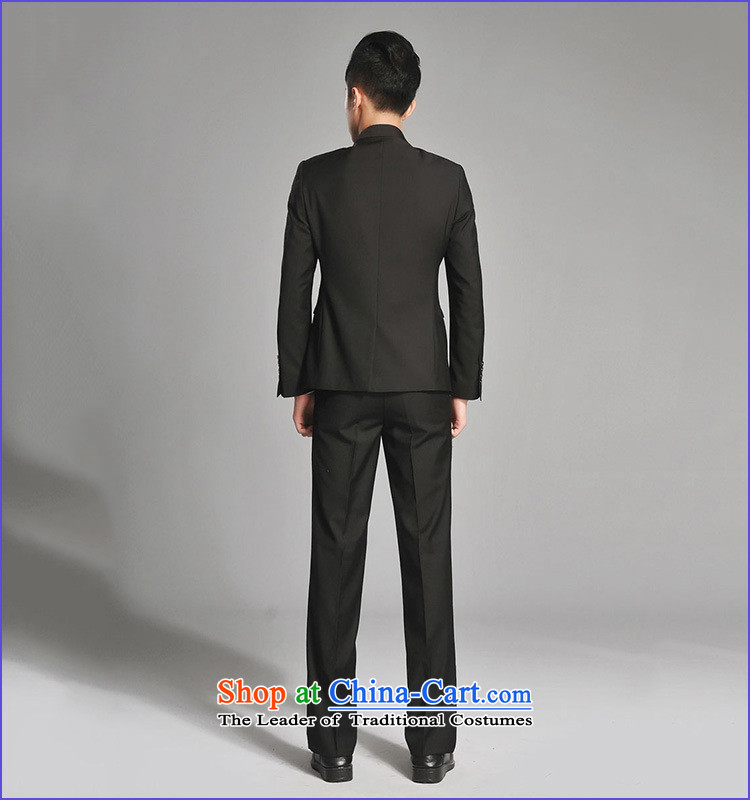 2015 New Chinese tunic Kit Men's Mock-Neck youth popular Korean black leisure suit groom Sau San installed new gray聽M picture, prices, brand platters! The elections are supplied in the national character of distribution, so action, buy now enjoy more preferential! As soon as possible.