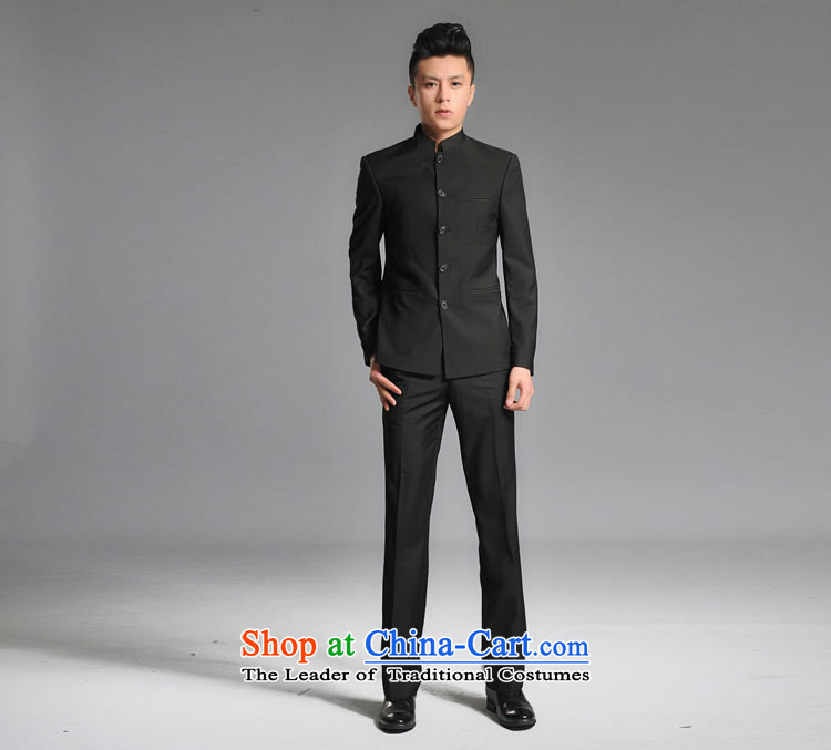 The new white Youth Chinese tunic male and Korean figures of photography with floor repair health groom wedding dress kit black M picture, prices, brand platters! The elections are supplied in the national character of distribution, so action, buy now enjoy more preferential! As soon as possible.