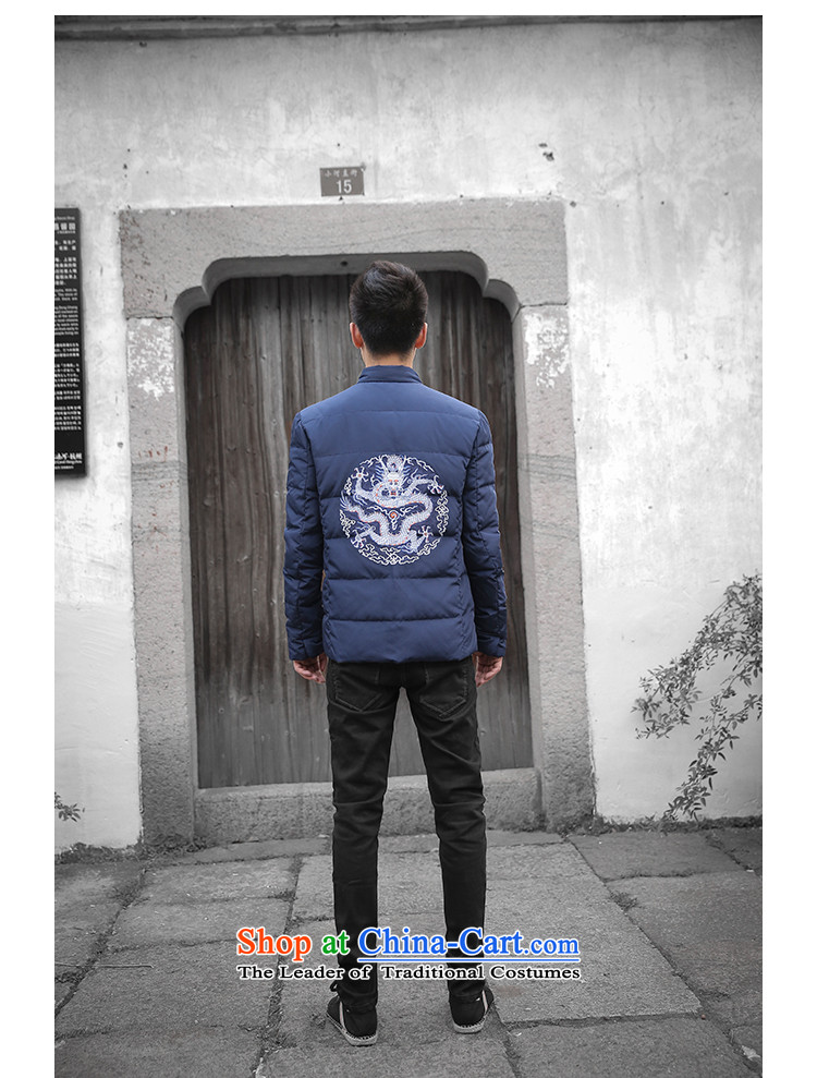 Dan Jie Shi Tang dynasty China Wind Jacket coat coat embroidered navy blue聽L picture, prices, brand platters! The elections are supplied in the national character of distribution, so action, buy now enjoy more preferential! As soon as possible.