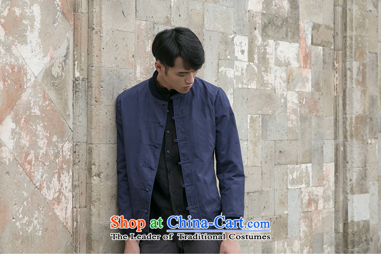 Dan Jie Shi Tang dynasty China wind retro men pure cotton jacket Navy detained disk聽S picture, prices, brand platters! The elections are supplied in the national character of distribution, so action, buy now enjoy more preferential! As soon as possible.