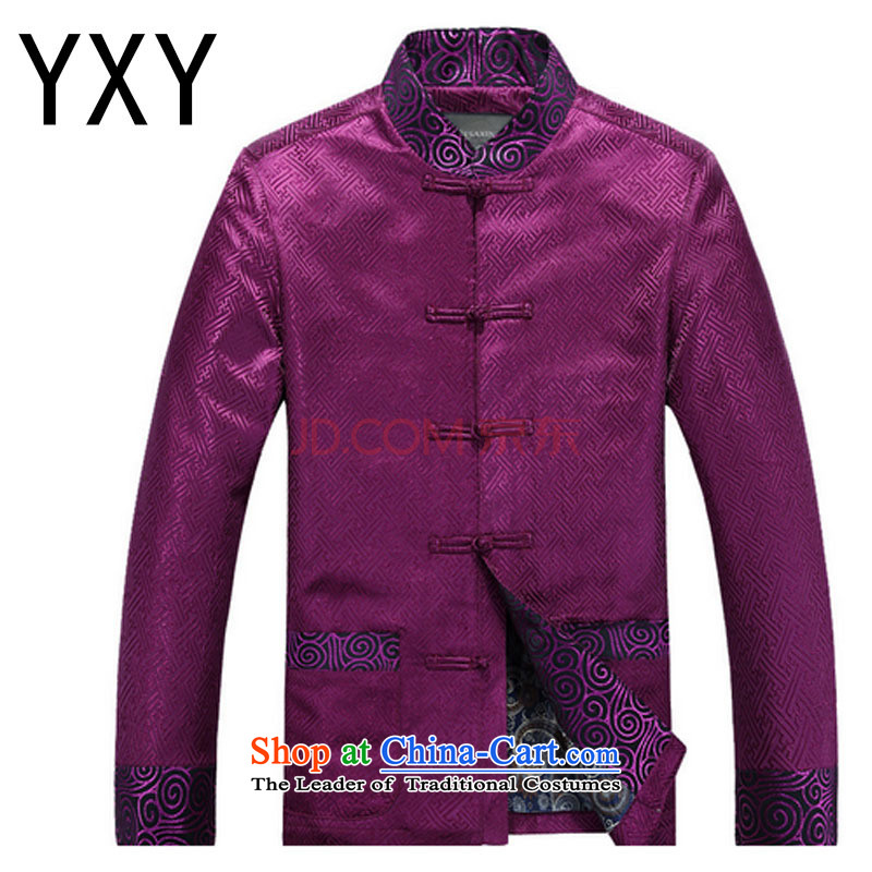 In elderly men dress China wind load new Tang Dynasty Dinner dress?DY88021?and Kim Ho?XL