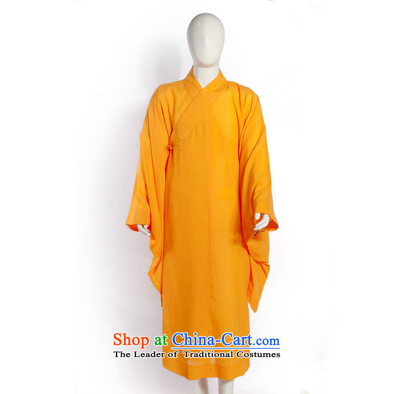 Desktop and Lai Renunciates Summer Fabric ball-continent Hai Qing Man and sweat-wicking ball-services model Buddhist articles yellow (continental) 51(159cm-161cm)