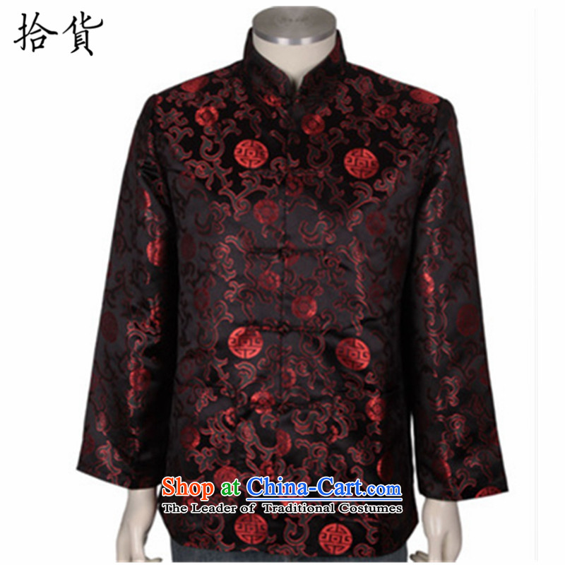 Pick the Winter 2015 new elderly couples replacing Tang Dynasty Chinese winter coat grandparents to replace birthday birthday replacing Tang Blouses Ladies black 170