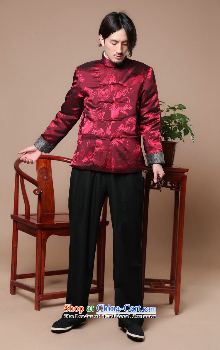 Mrs Ingrid Yeung as Overgrown Tomb men Tang dynasty long-sleeved autumn and winter season) Men's robe of older people in the Cotton Men jacket, blue L picture, prices, brand platters! The elections are supplied in the national character of distribution, so action, buy now enjoy more preferential! As soon as possible.