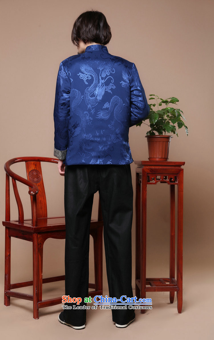 Mrs Ingrid Yeung as Overgrown Tomb men Tang dynasty long-sleeved autumn and winter season) Men's robe of older people in the Cotton Men jacket, blueL picture, prices, brand platters! The elections are supplied in the national character of distribution, so action, buy now enjoy more preferential! As soon as possible.