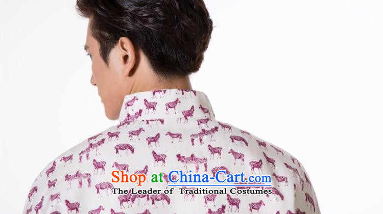 The dispatch of the Spring and Autumn Period and the Tang dynasty jacket men silk linen retro traditional cuff tray snap-collar new pre-sale emblazoned with the pink ponies Population Commission garment聽2XL   聽new pre-sale three days to send out a picture, prices, brand platters! The elections are supplied in the national character of distribution, so action, buy now enjoy more preferential! As soon as possible.