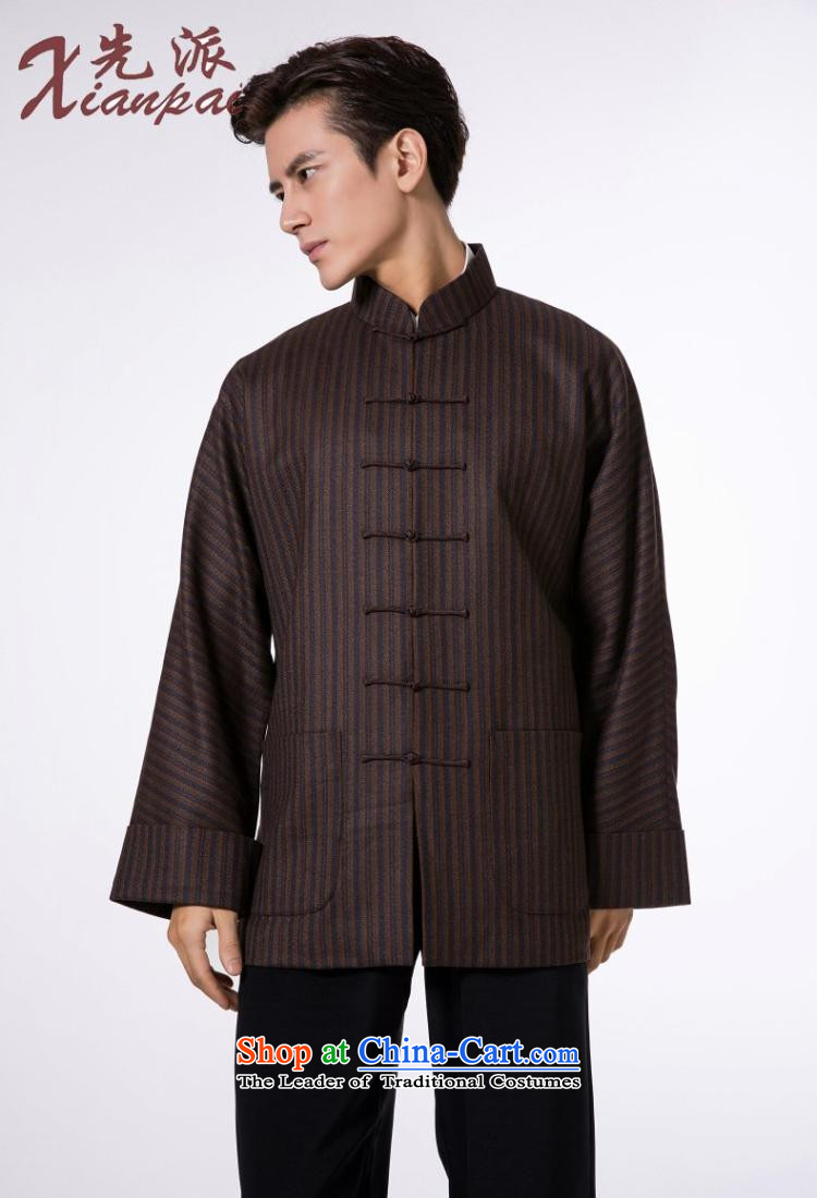 The dispatch of pre-sale Tang Dynasty Men long-sleeved jacket wool Stylish spring and autumn China wind even traditional shoulder mock coffee-colored bars wool garment聽M  聽new pre-sale three days to send out a picture, prices, brand platters! The elections are supplied in the national character of distribution, so action, buy now enjoy more preferential! As soon as possible.