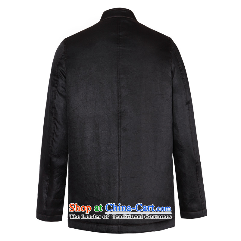 To Tang Dynasty Dragon聽2015 autumn and winter New China wind in older men sauna silk yarn jacket聽15622 cloud of incense聽Deep Color聽to 52, Dragon Lady , , , shopping on the Internet
