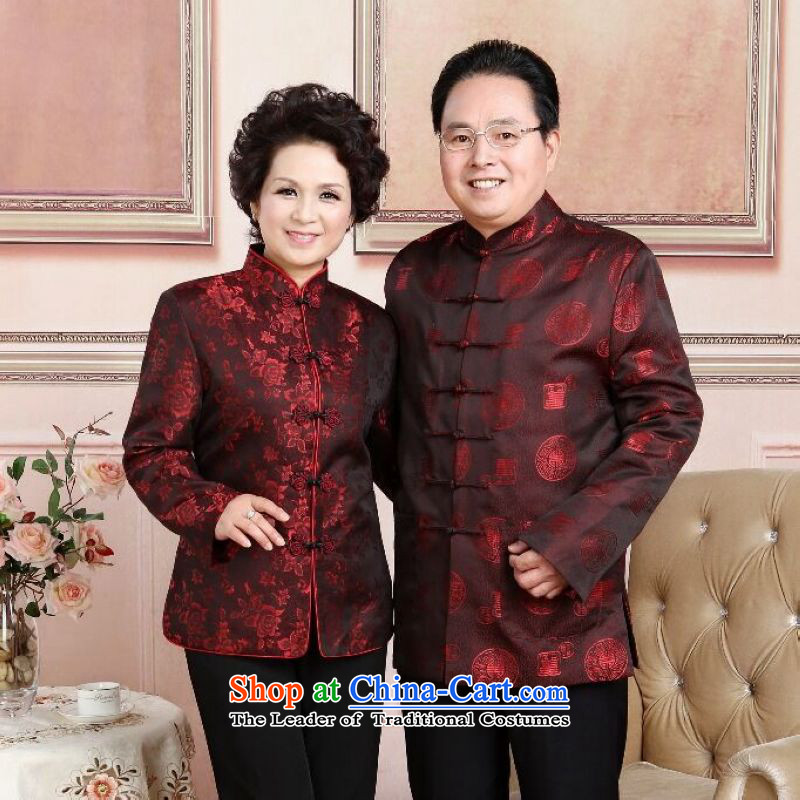 158 Jing in Tang Dynasty older couples with collar China wind dress too Shou Yi wedding services will women?XXL