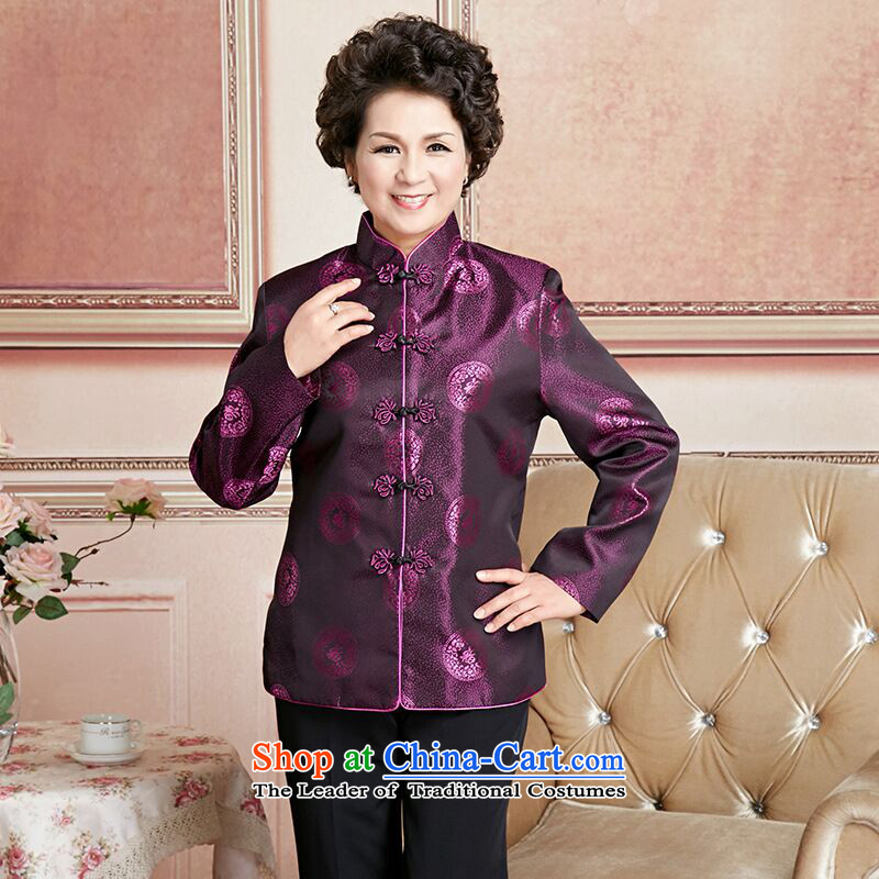158 Jing in Tang Dynasty older couples with collar China wind dress too Shou Yi wedding services will women燲XXL