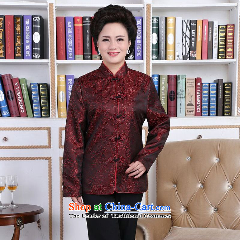158 Jing in Tang Dynasty older couples with collar China wind dress too Shou Yi wedding services will women燲L