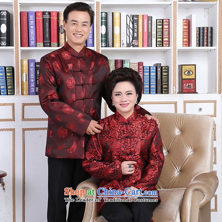 158 Jing in Tang Dynasty older couples with collar China wind dress too Shou Yi wedding services will men?XL