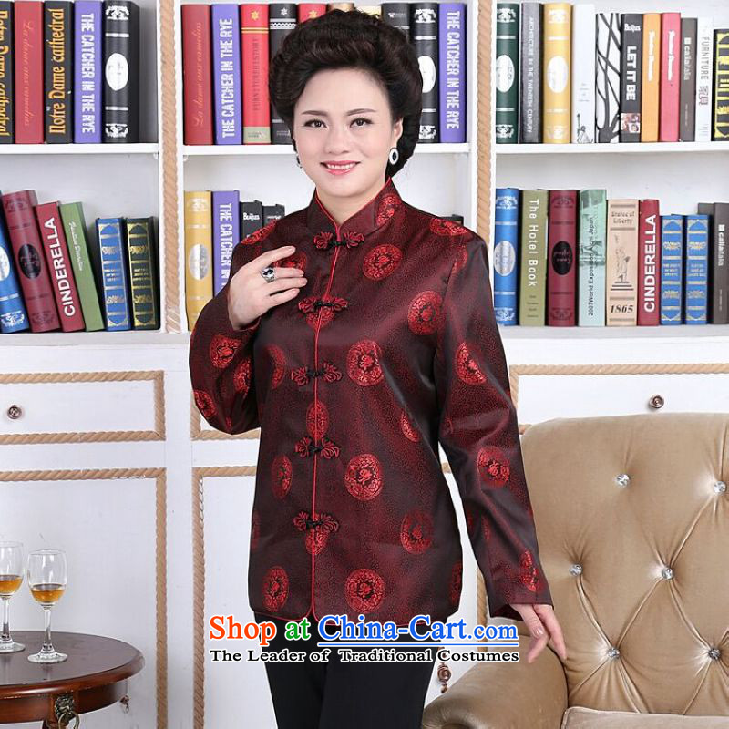 158 Jing in Tang Dynasty older couples with collar China wind dress too Shou Yi wedding services will men?L
