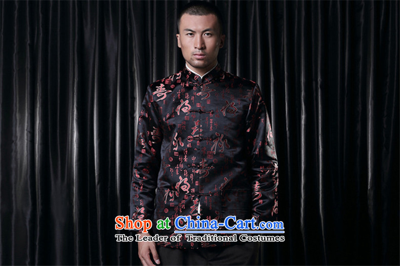 Phaedo of FZOG/ autumn and winter new stylish stamp Men's Mock-Neck China wind up. The older Shou Tang-pack Black聽XXXXL picture, prices, brand platters! The elections are supplied in the national character of distribution, so action, buy now enjoy more preferential! As soon as possible.