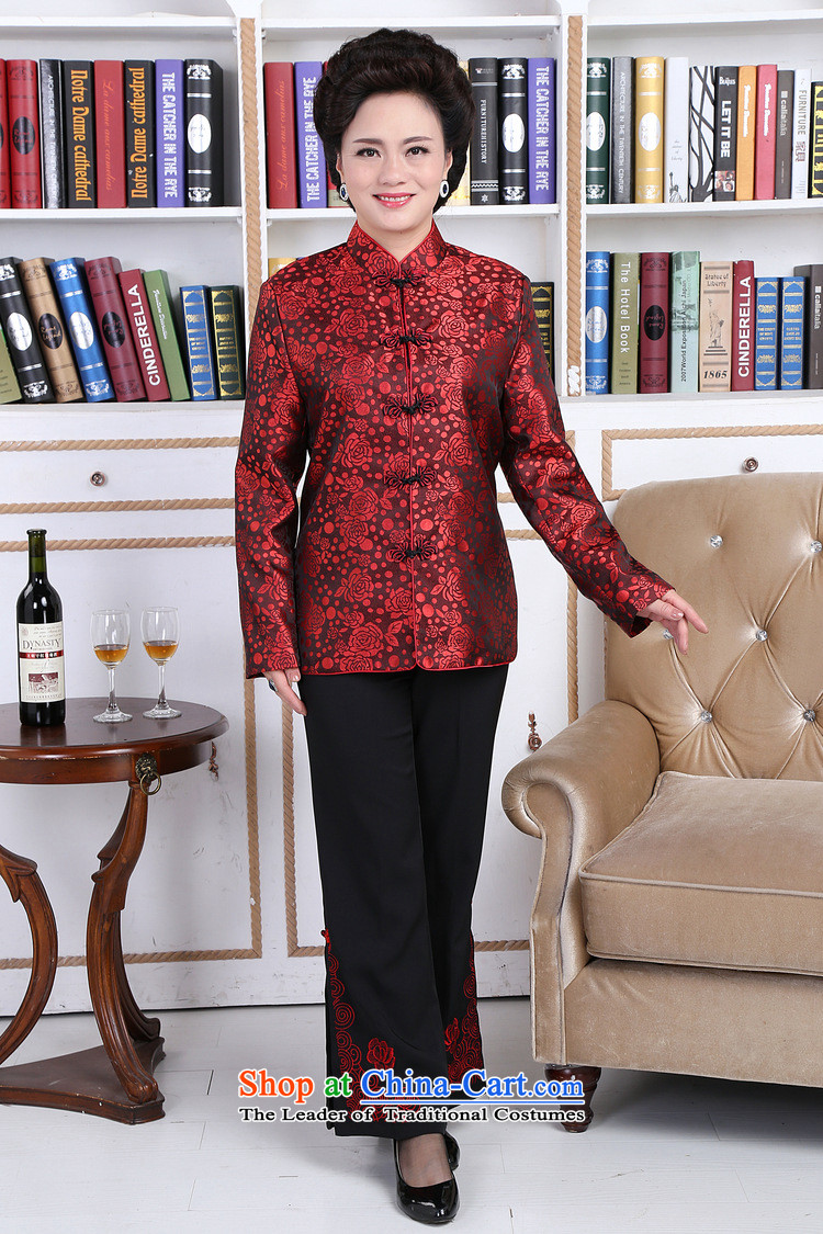 158 Jing in Tang Dynasty older couples with collar China wind dress too Shou Yi wedding services will men聽XXXL picture, prices, brand platters! The elections are supplied in the national character of distribution, so action, buy now enjoy more preferential! As soon as possible.