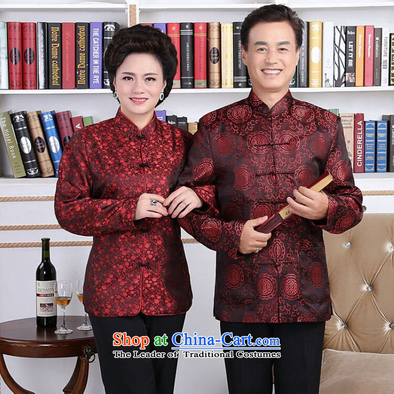 158 Jing in Tang Dynasty older couples with collar China wind dress too Shou Yi wedding services will聽bring men XXXL, jing shopping on the Internet has been pressed.