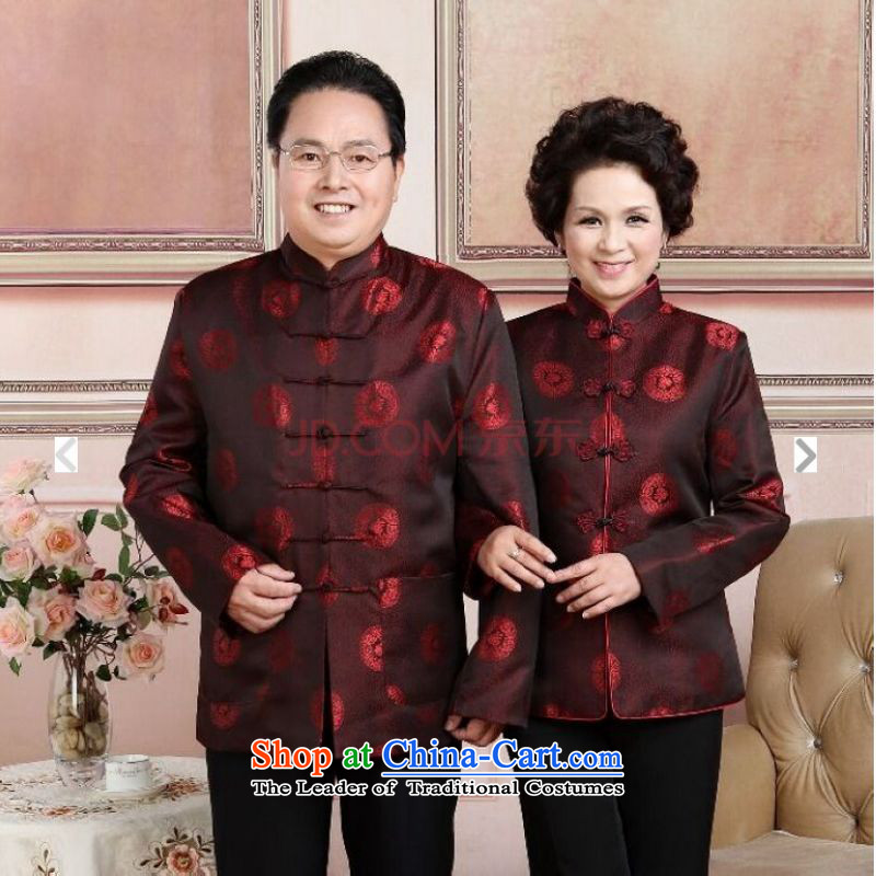 To Jing Ge older couples with Tang dynasty China wind collar dress too Shou Yi wedding services will men聽XXXL