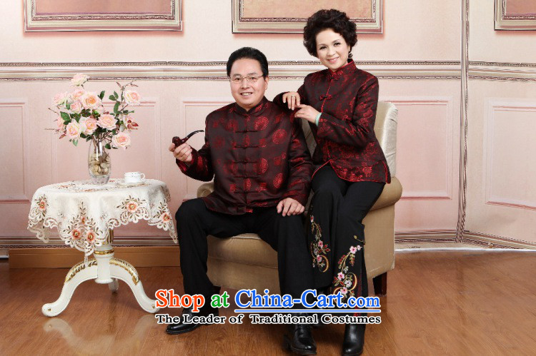 To Jing Ge older couples with Tang dynasty China wind collar dress too Shou Yi wedding services women聽XXXL picture, prices, brand platters! The elections are supplied in the national character of distribution, so action, buy now enjoy more preferential! As soon as possible.
